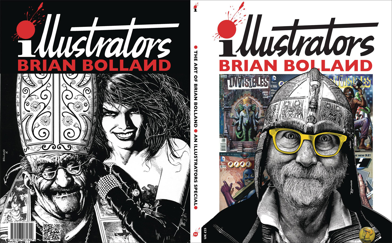 Image: Illustrators Special: The Art of Brian Bolland #6 - Book Palace