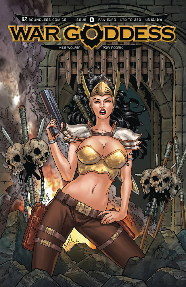 Image: War Goddess #0 (variant cover - Fan Expo) - Boundless Comics