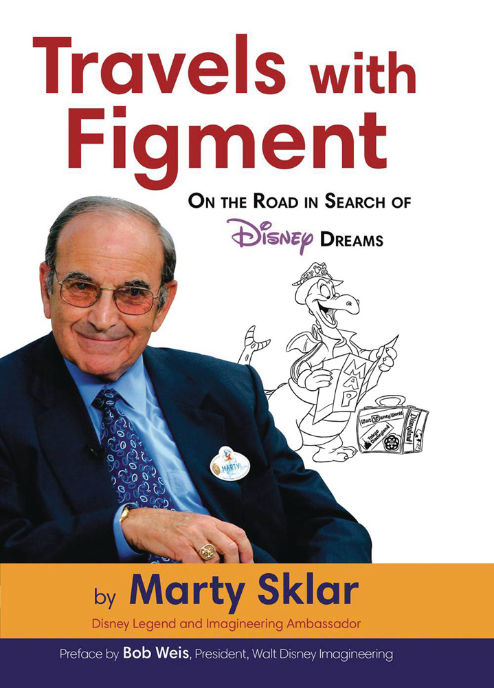 Image: Travels with Figment: On the Road Search Disney Dreams HC  - Disney Editions