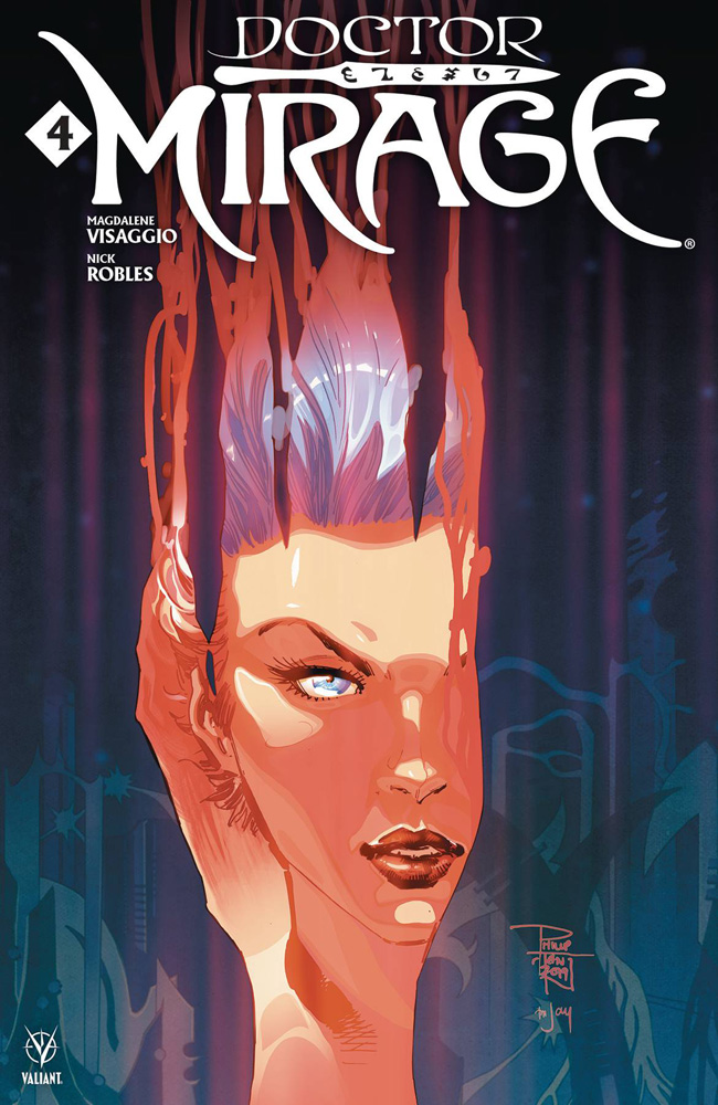 Image: Doctor Mirage #4 (cover A - Tan) - Valiant Entertainment LLC