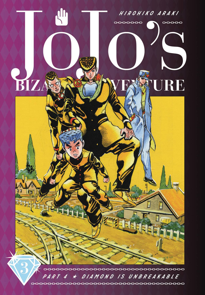 Image: Jojo's Bizarre Adventure Part 04: Diamond Is Unbreakable Vol. 03 HC  - Viz Media LLC