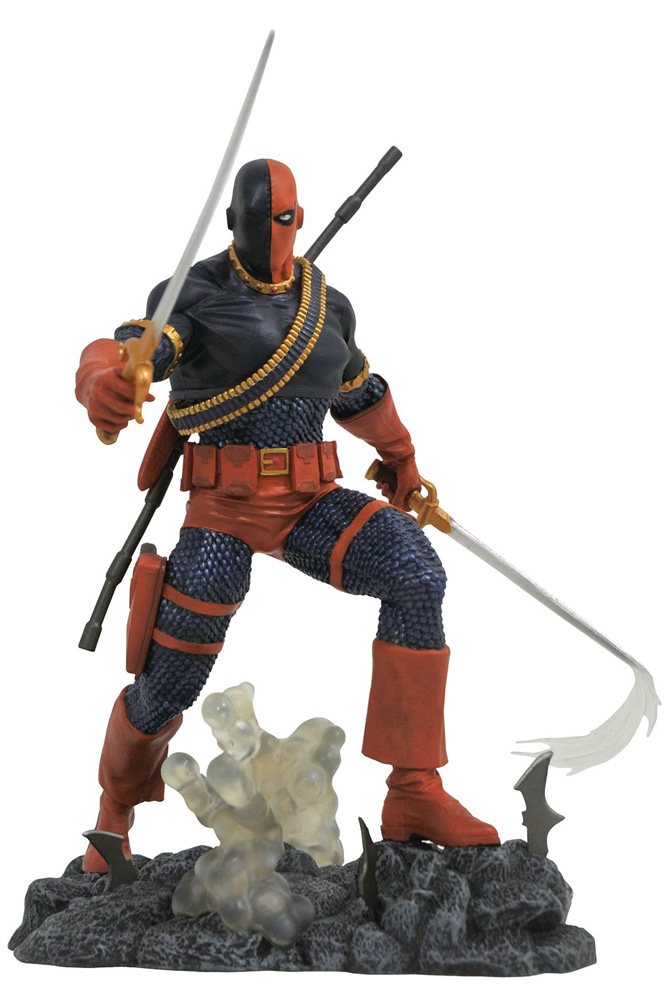 Image: DC Comics Gallery PVC Statue: Deathstroke  - Diamond Select Toys LLC