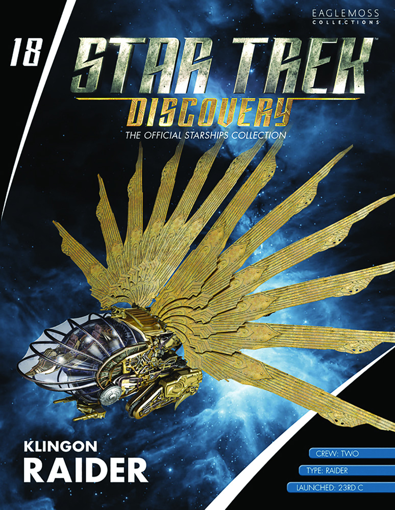 Star Trek Discovery Figure Magazine #18 (Klingon Raider) - Eaglemoss Publications Ltd