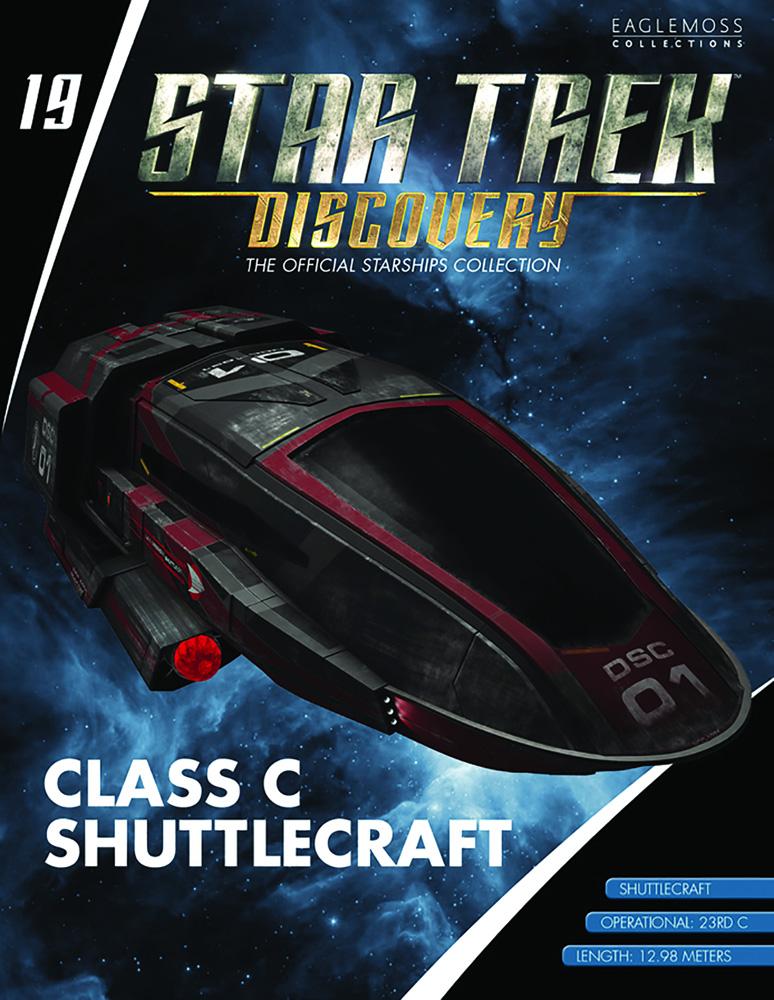 Star Trek Discovery Official Starships Collection: Class C Shuttlecraft  - Eaglemoss Publications Ltd