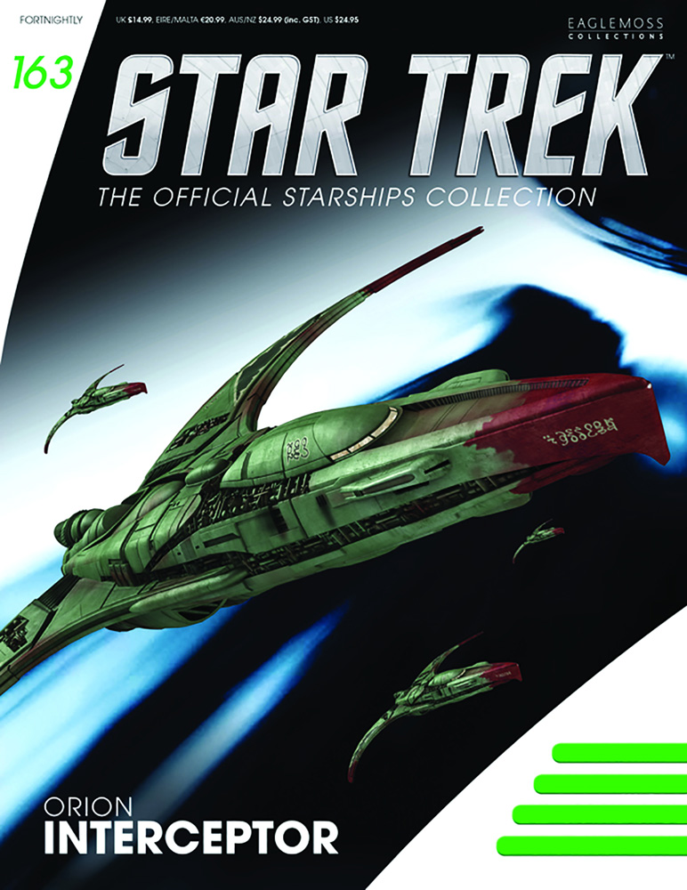 Star Trek Starships Figure Magazine #163 (Orion Interceptor) - Eaglemoss Publications Ltd