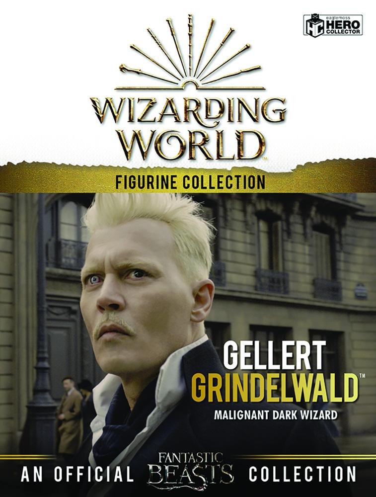 Wizarding World Fantastic Beasts Figurine Collection: Gellart Grindelwald  - Eaglemoss Publications Ltd