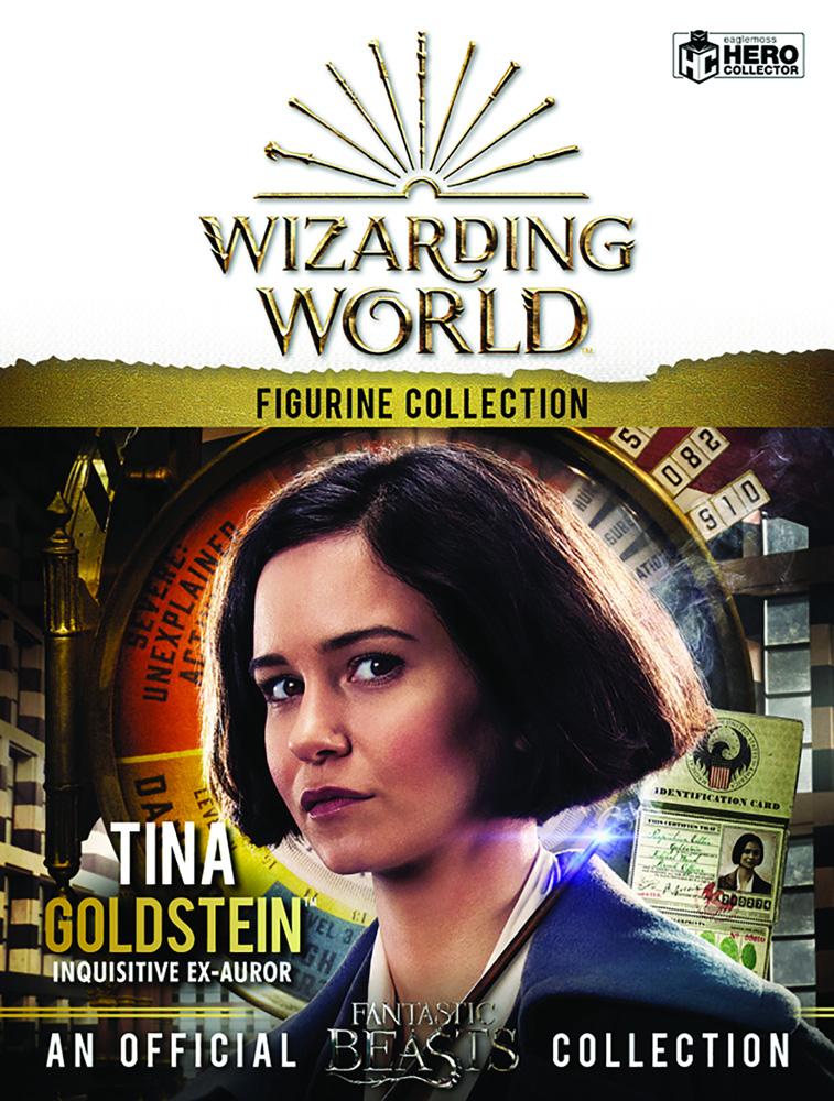 Harry Potter Wizarding World Figure Collection: Tina Goldstein  - Eaglemoss Publications Ltd
