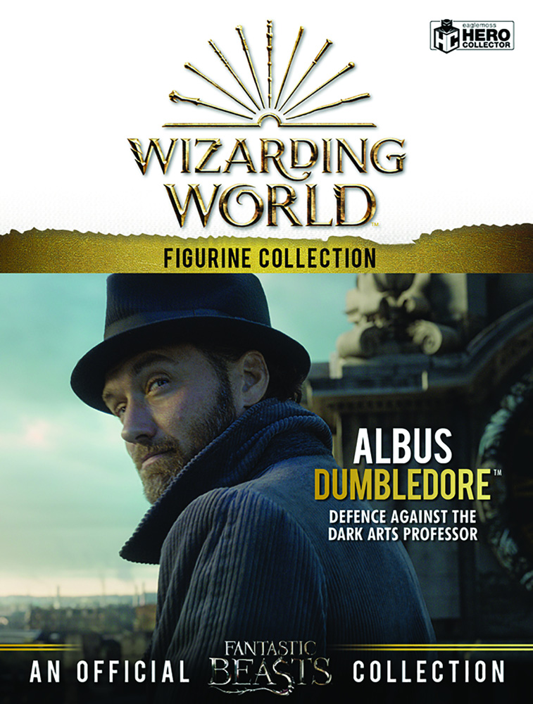 Harry Potter Wizarding World Figure Collection: Dumbledore  (Jude Law) - Eaglemoss Publications Ltd