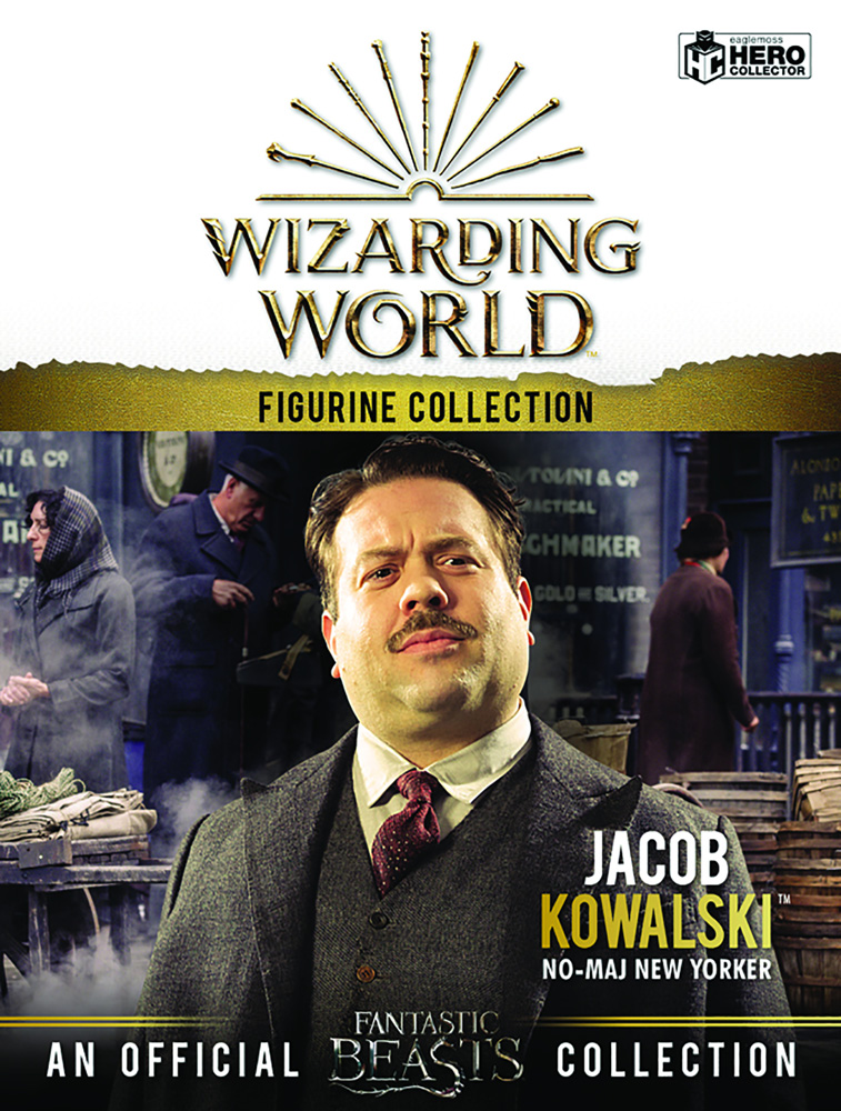 Harry Potter Wizarding World Figure Collection: Jacob Kowalski  - Eaglemoss Publications Ltd