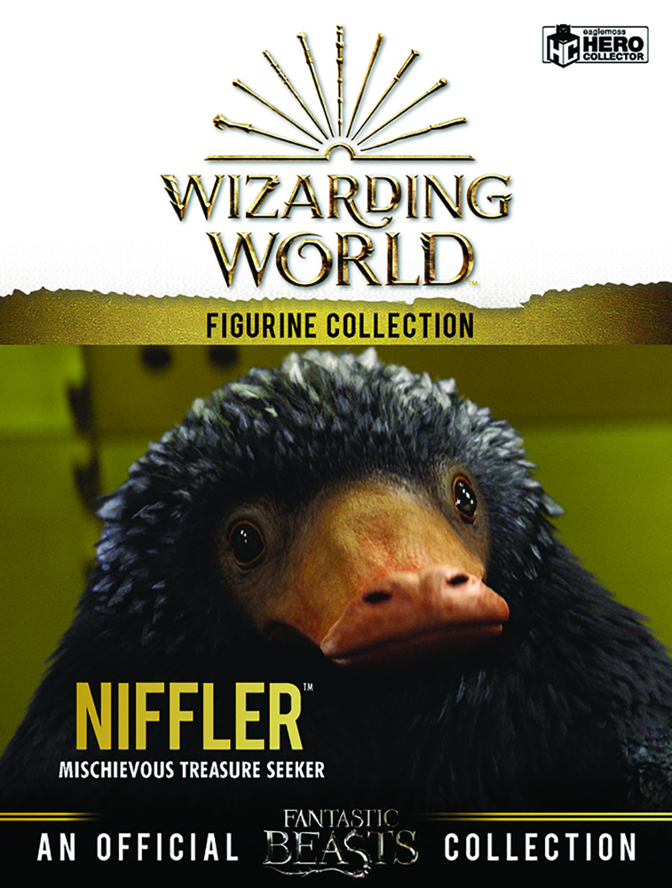Harry Potter Wizarding World Figure Collection: Niffler  - Eaglemoss Publications Ltd