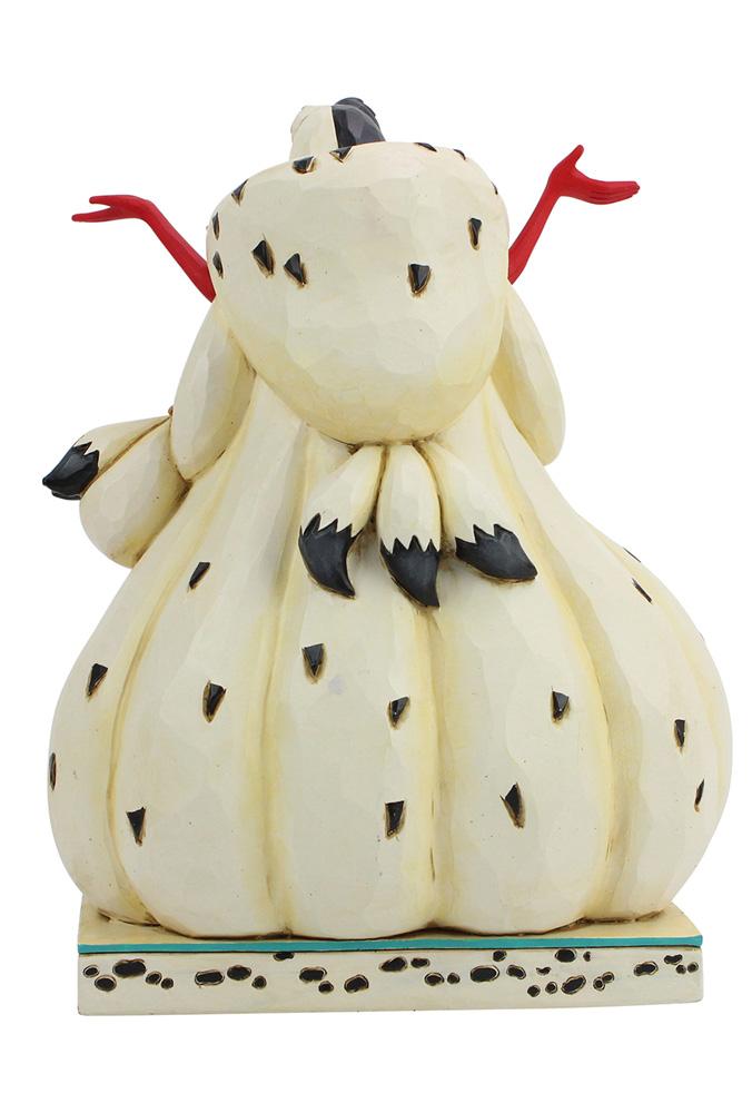 Disney 101 Dalmatians Figurine: Cruella with Puppies  (8.2-inch) - Enesco Corporation