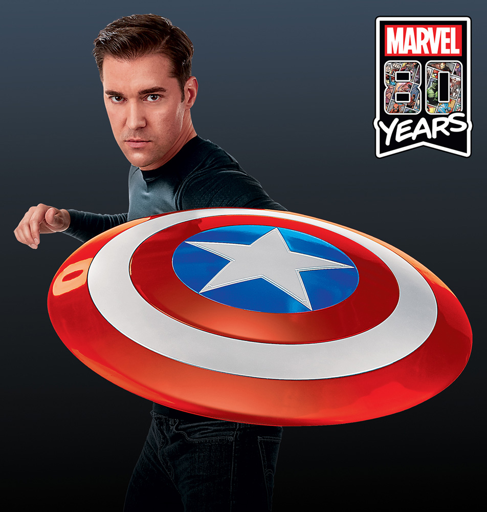 Avengers Legends 80th Anniversary Gear: Captain America Shield  - Hasbro Toy Group