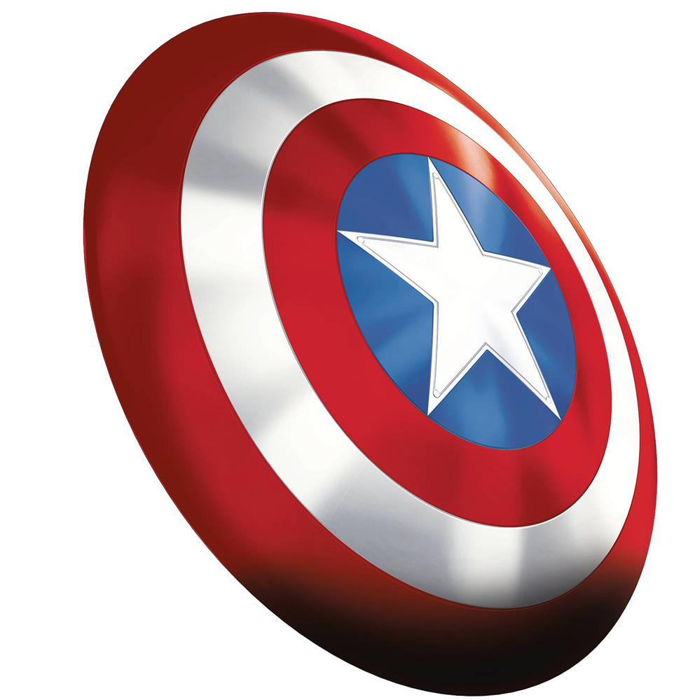 Image: Avengers Legends 80th Anniversary Gear: Captain America Shield  - Hasbro Toy Group