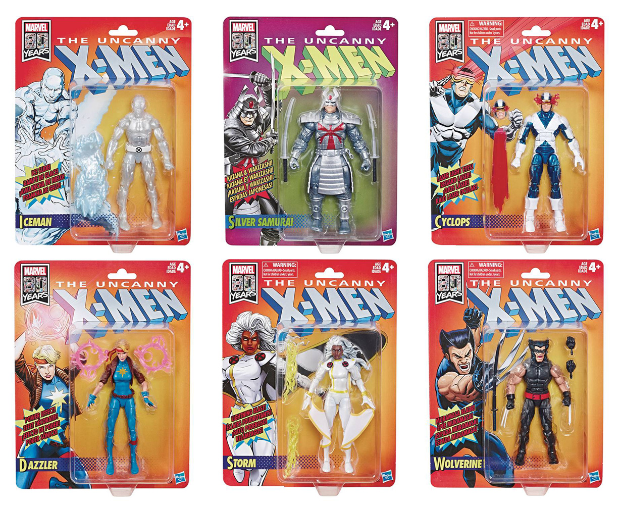 Image: X-Men Legends Retro Action Figure Assortment 201901  (6-inch) - Hasbro Toy Group