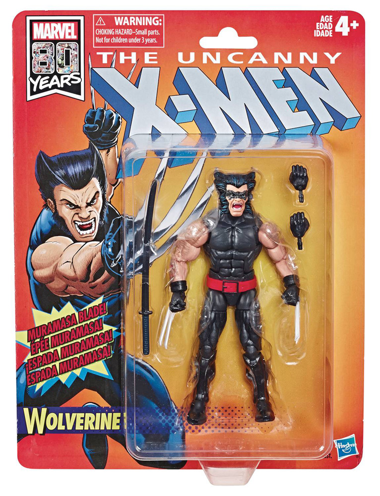 Image: X-Men Legends Retro Action Figure Case: Wolverine  (6-inch) - Hasbro Toy Group