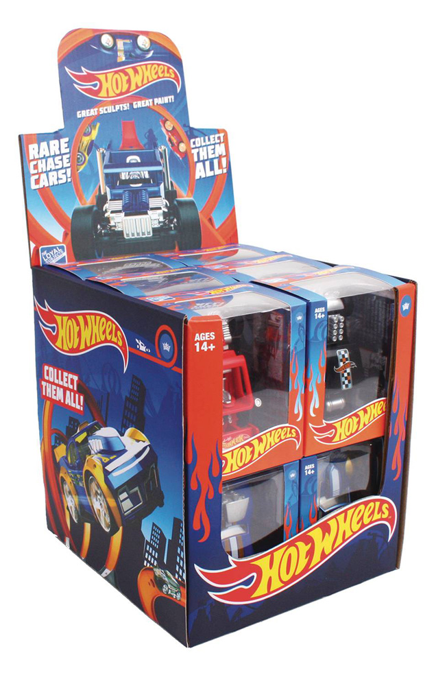 Image: TLS x Hot Wheels Mini-Figure 12-Piece Display Wave 1  - The Loyal Subjects