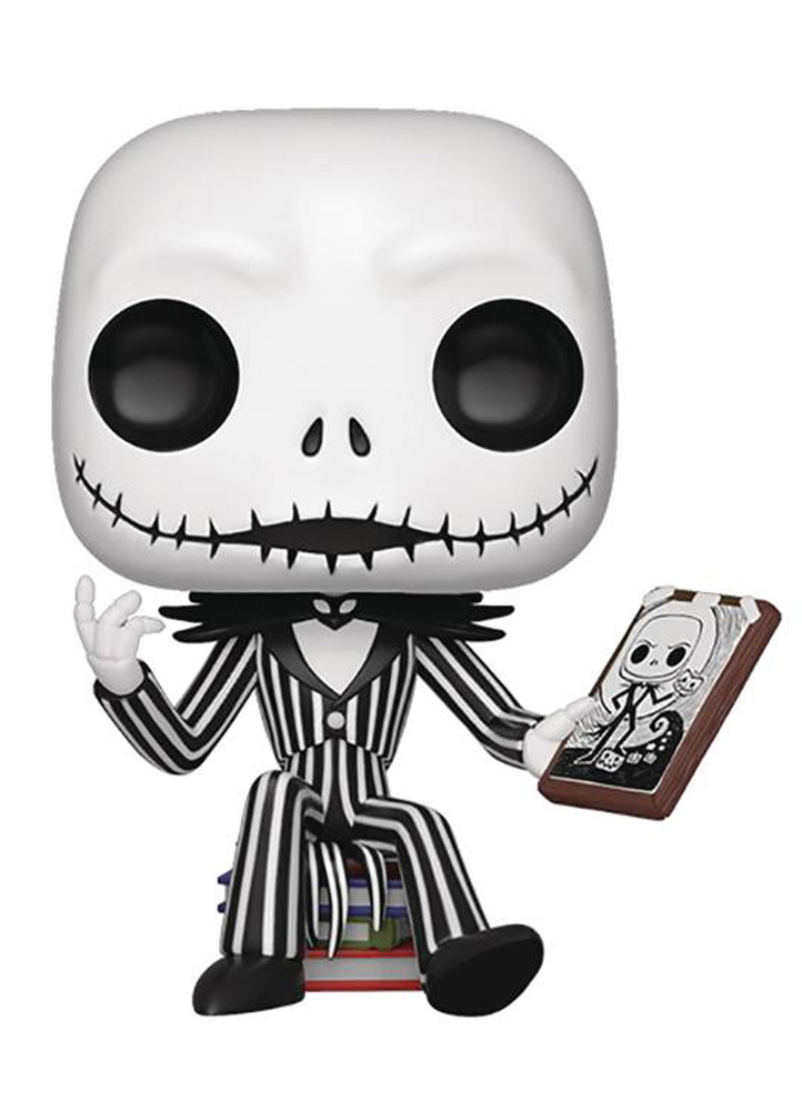 Pop! Town Disney Vinyl Figures 07: The Nightmare Before Christmas - Jack Skellington & Jack's House  - Funko