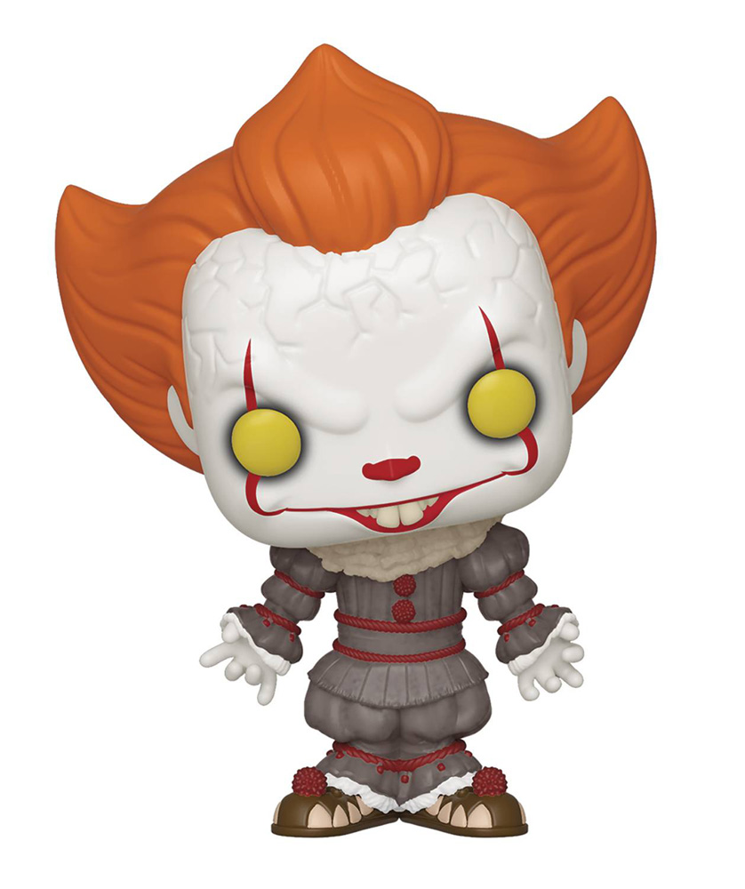 Image: Pop! Movies Vinyl Figure: It Chapter 2 - Pennywise  (w/Open Arms) - Funko