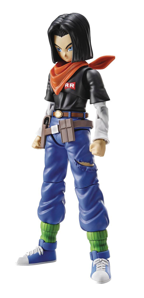 Image: Dragon Ball Figure-Rise Model Kit: Android 17  (New Package Version) - Bandai Hobby