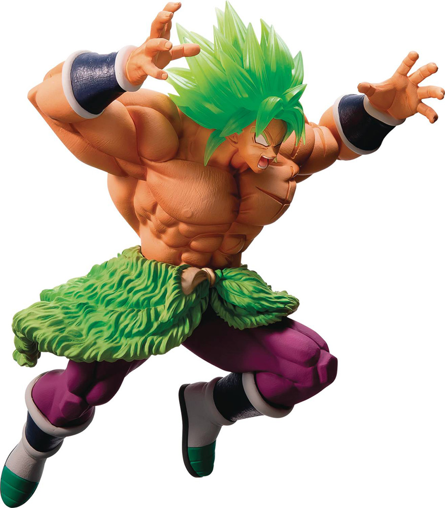 Image: Dragon Ball Super Saiyan Ichiban Figure: Broly Full Power  - Tamashii Nations