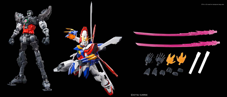 G Gundam Bandai Spirits Ri-Res Model Kit: God Gundam  - Bandai Hobby