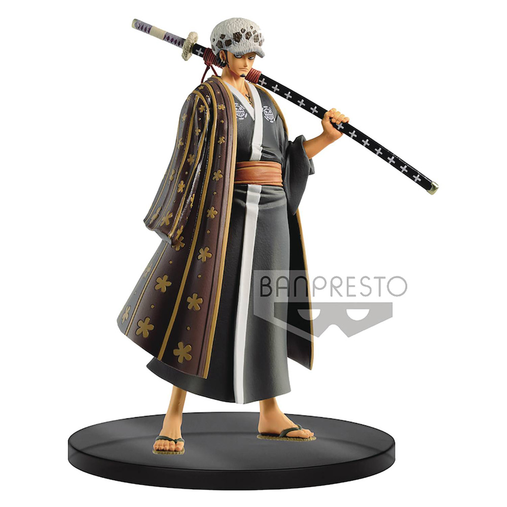Image: One Piece Grandline Men Wano Country V3 DXF Figure: Law  - Banpresto