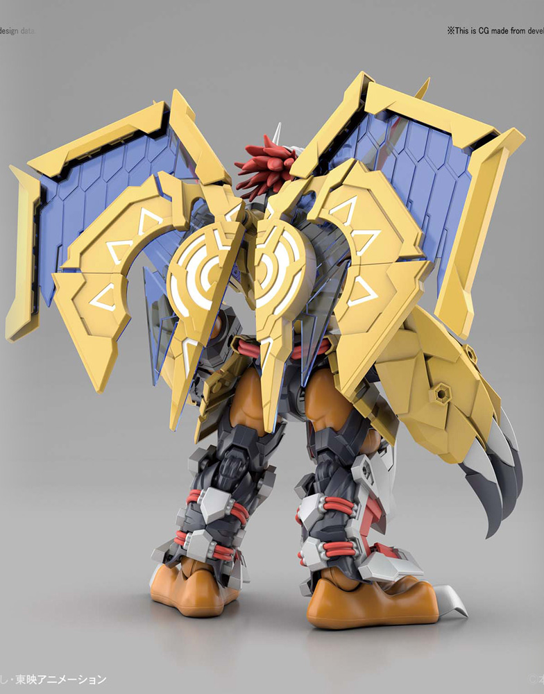Digimon Fig-Rise Standard Model Kit: Amplified Wargreymon  - Bandai Hobby
