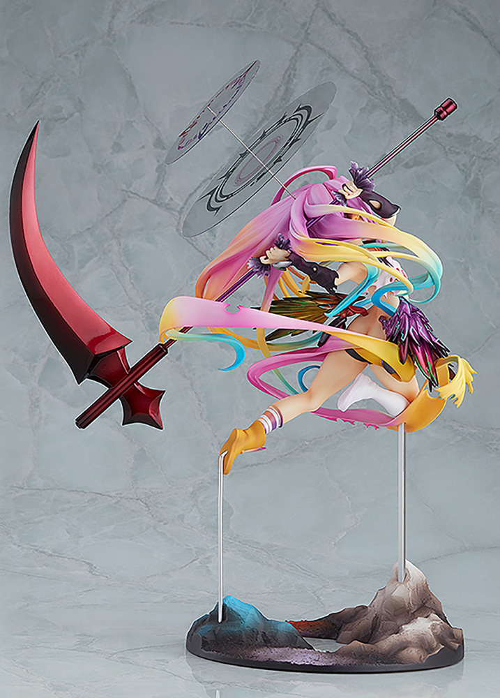 No Game, No Life PVC Figure: Zero Jibril  (Great War version) (1/8 scale) - Phat