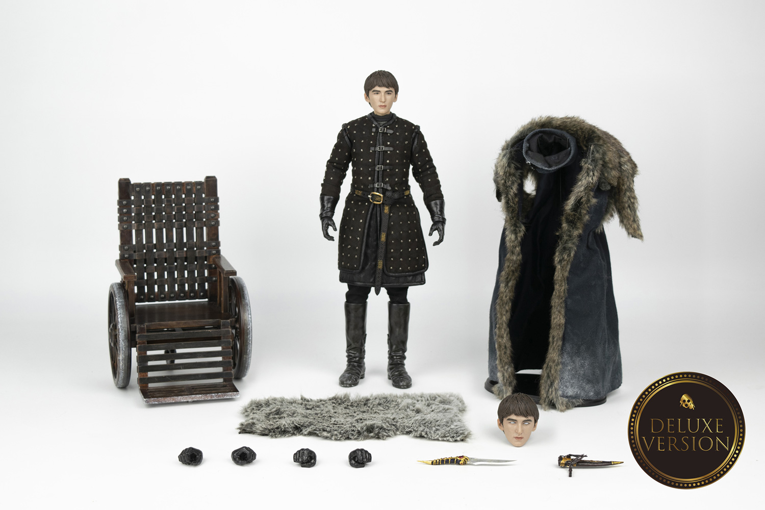 Game of Thrones Figure: Bran Stark  (Deluxe Edition) (1/6 Scale) - Three A Trading Company Ltd