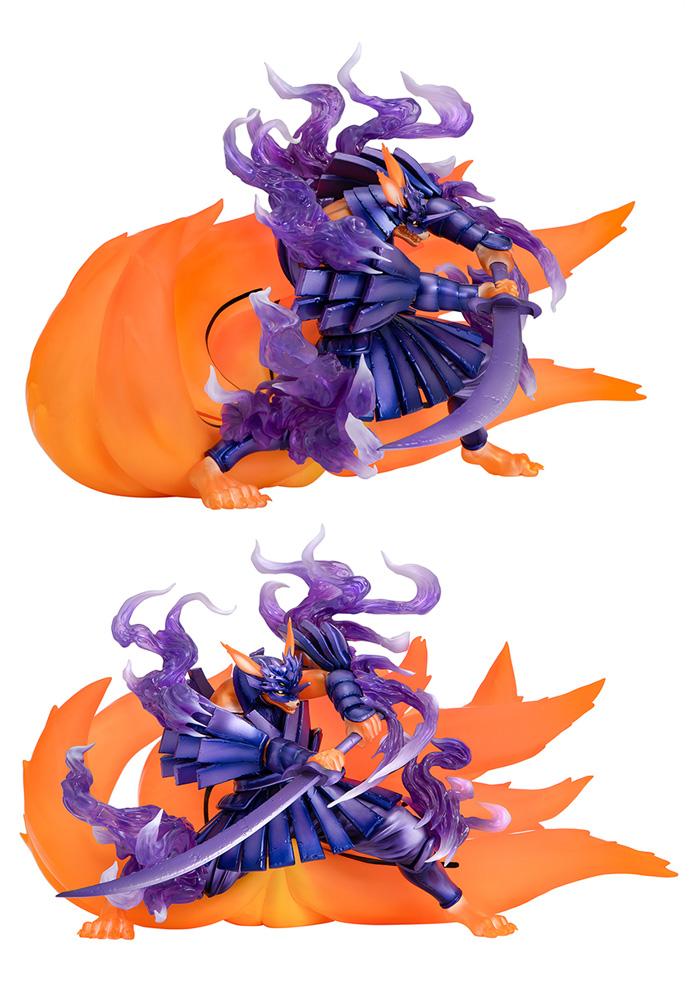 Precious Gem Series Naruto Next Generations PVC Figure: Kurama Susano  - Megahouse Corporation
