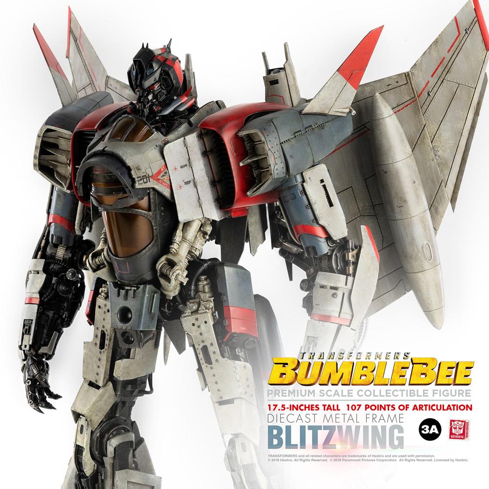 Transformers Premium Scale Figure: Bumblebee Blitzwing  - Three A Trading Company Ltd