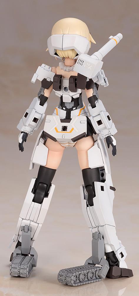 Frame Arms Girl Plastic Model Kit: Ourai-Kai  (White V2) - Kotobukiya