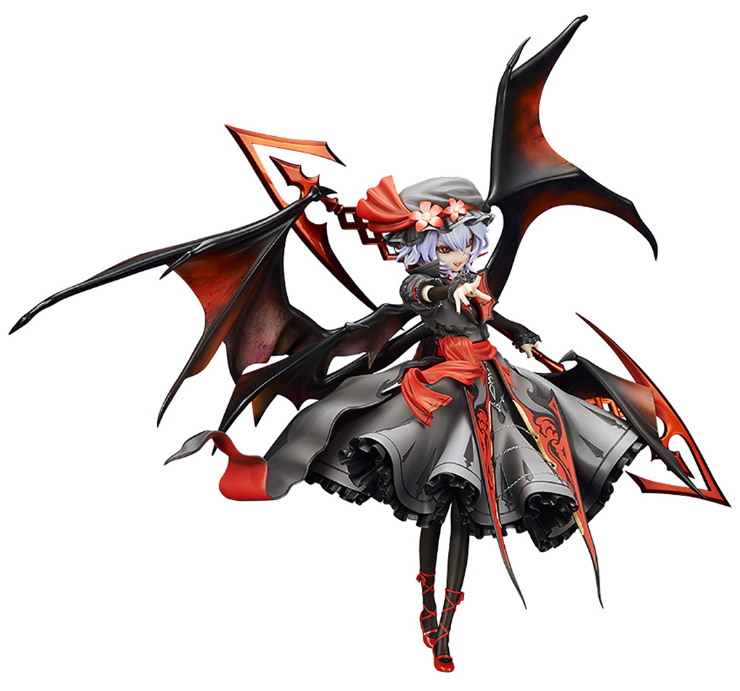 Touhou Project PVC Figure: Lok Remilia Scarlet  (Color version) (1/8 scale) - Quesq, Inc.