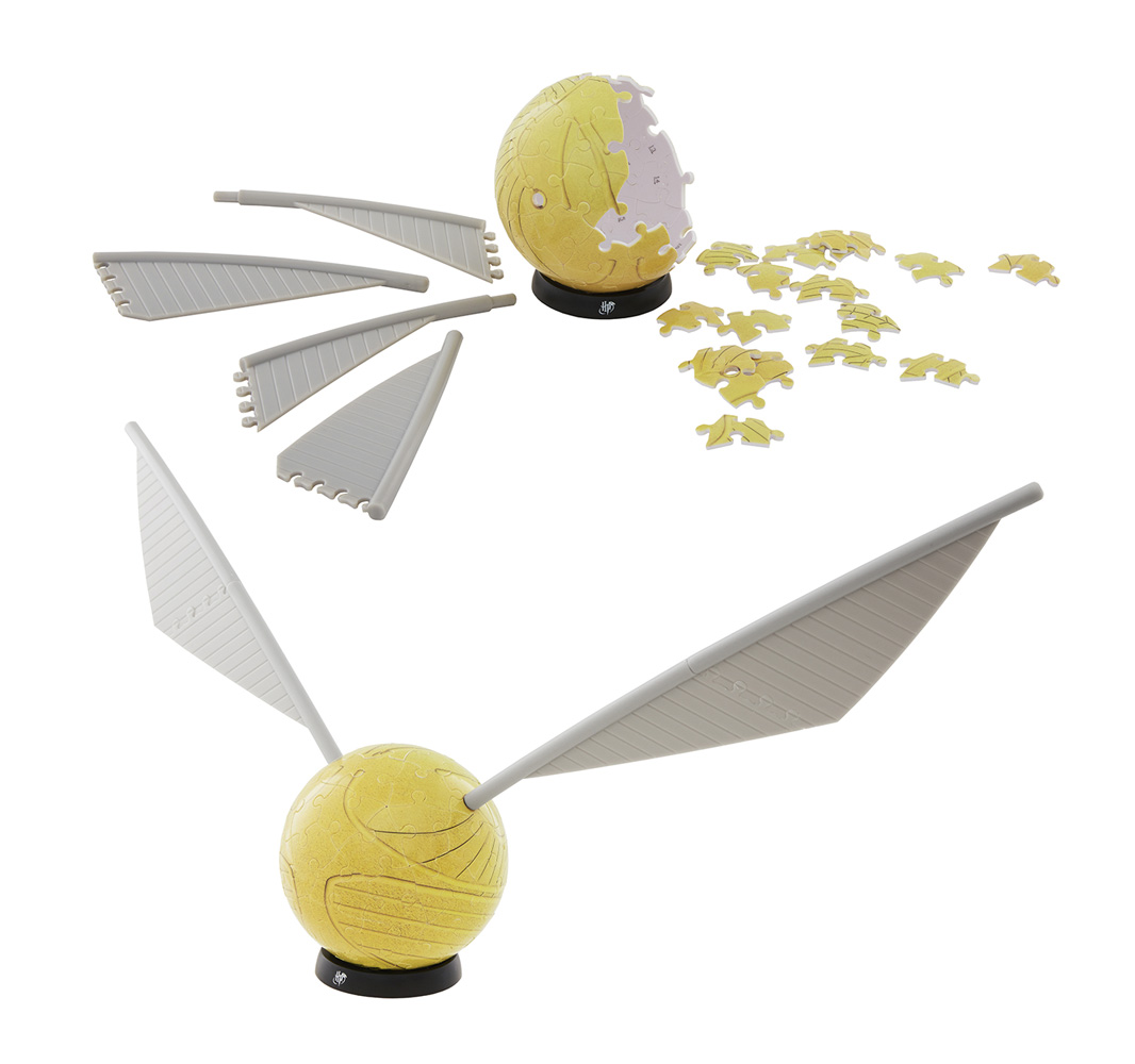 4D Harry Potter 3-Inch Snitch Puzzle 12-Count Display  - 4D Cityscape, Inc