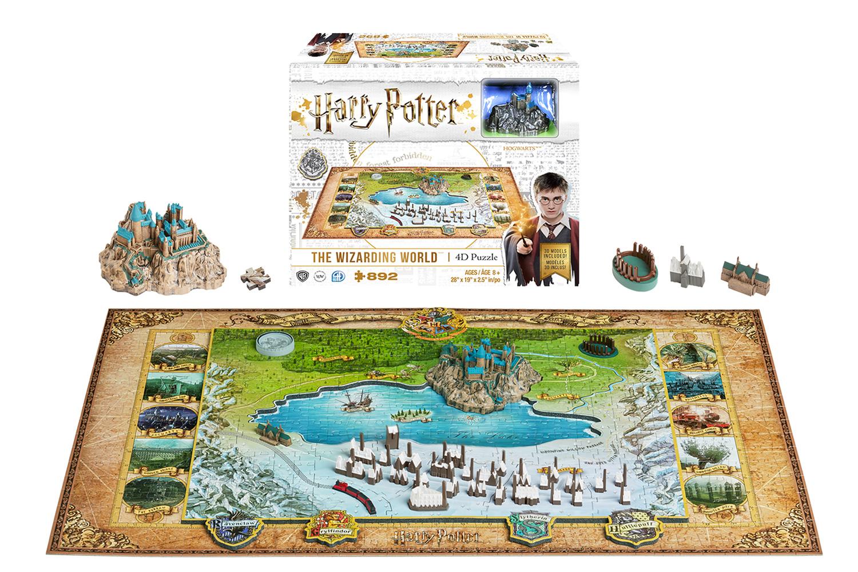 Harry Potter 4D Puzzle: Wizarding World  - 4D Cityscape, Inc