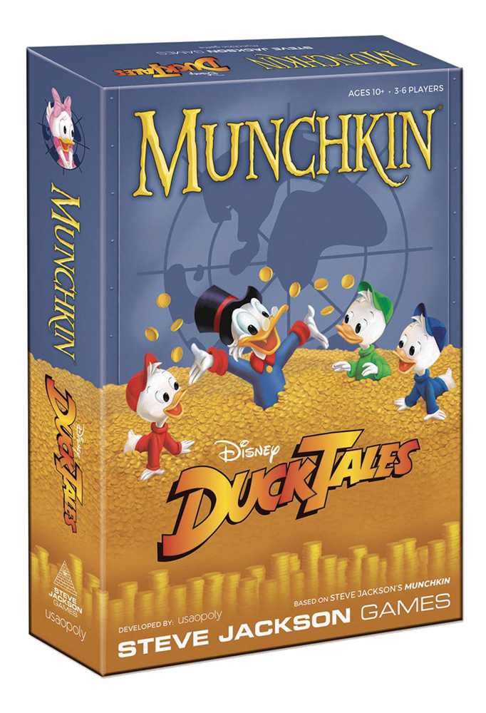 Image: Munchkin: Disney Ducktales Card Game  - Usaopoly