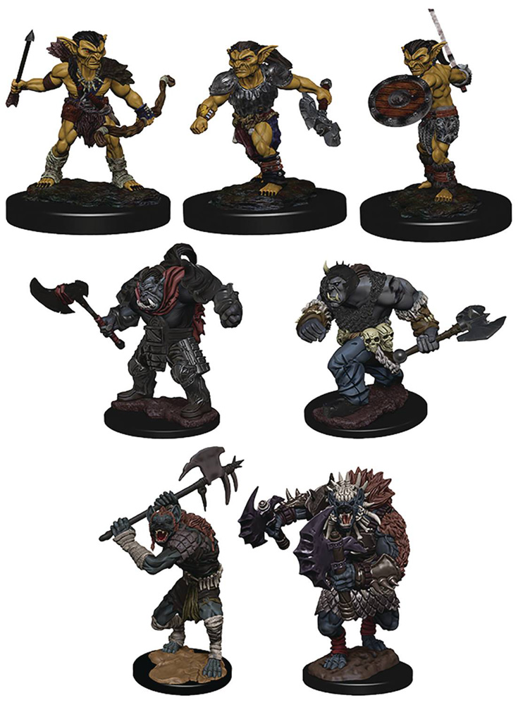 Image: D&D Icons of the Realms Monster Pack: Villiage Raiders  - Wizkids/Neca