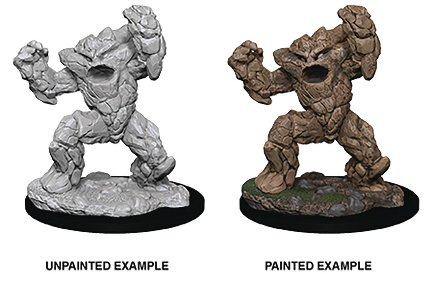 Image: D&D Nolzars Marvelous Mini: Earth Elemental  - Wizkids/Neca