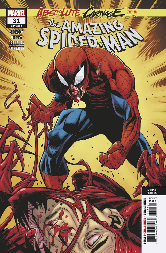 Image: Amazing Spider-Man #31 (variant cover - Ottley 2nd printing) - Marvel Comics