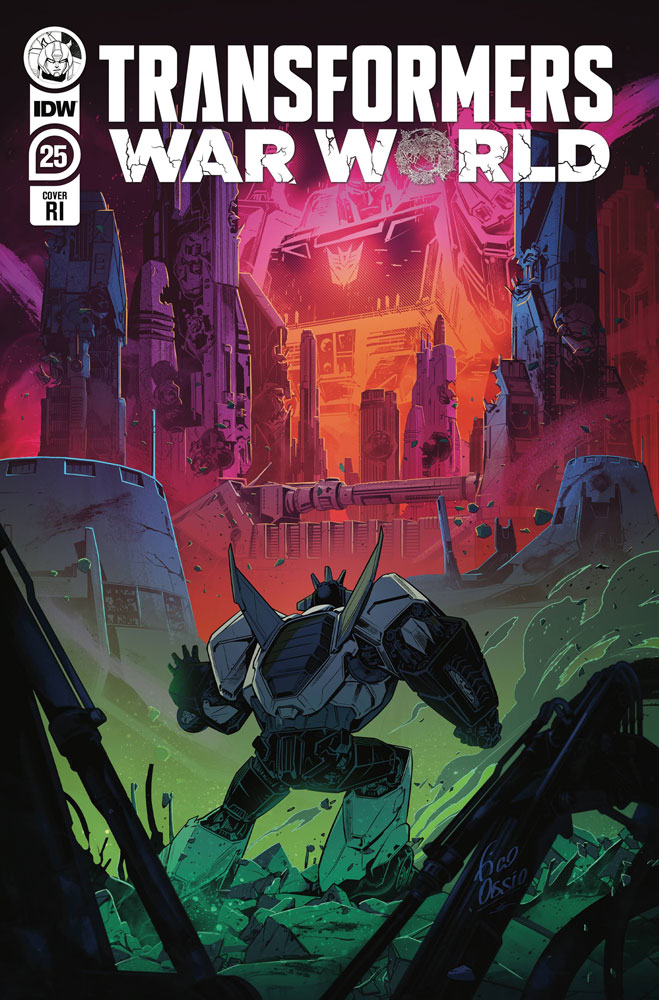 Image: Transformers #25 (incentive 1:10 cover - Ossio) - IDW Publishing