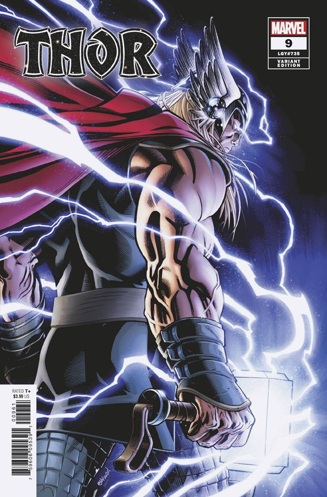 Image: Thor #9 (incentive 1:50 cover - McGuinness) - Marvel Comics