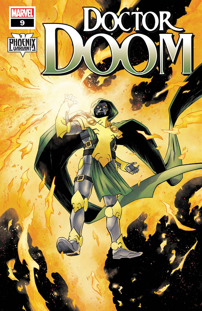 Image: Doctor Doom #9 (variant Doctor Doom Phoenix cover - Shalvey)  [2020] - Marvel Comics