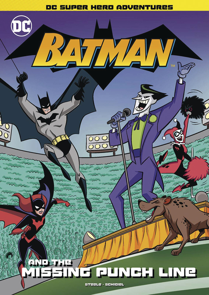 Image: Batman & the Missing Punchline SC  (Young Adults) - Stone Arch Books