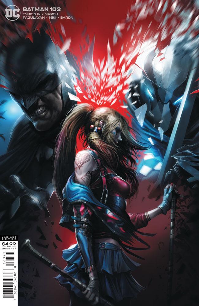 Image: Batman #103 (variant cardstock cover - Francesco Mattina) - DC Comics