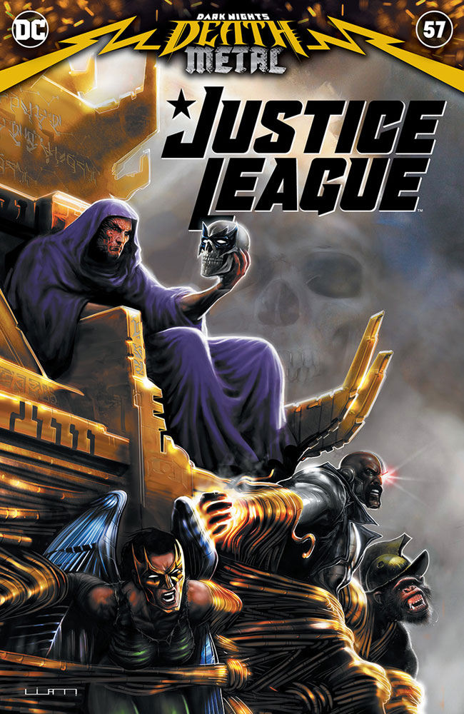 Image: Justice League #57 - DC Comics