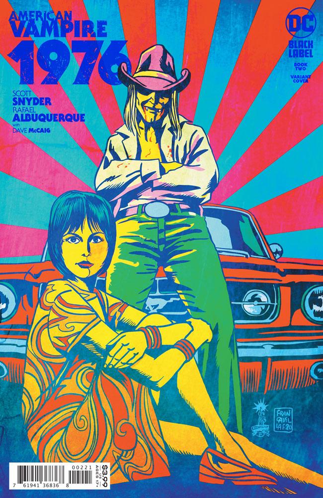 Image: American Vampire 1976 #2 (variant cover - Francavilla) [2020] - DC - Black Label