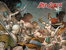 Image: Red Sonja Vol. 03: Rise of Kulan Gath HC  - D. E./Dynamite Entertainment