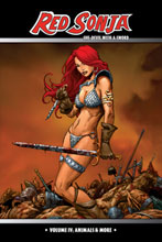 Image: Red Sonja, She-Devil With a Sword Vol. 04: Animals & More HC  - D. E./Dynamite Entertainment