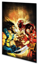 Image: Deadpool vs. Marvel Universe SC  - Marvel Comics