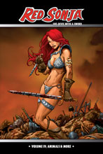 Image: Red Sonja: She-Devil With a Sword Vol. 04: Animals & More SC  - D. E./Dynamite Entertainment